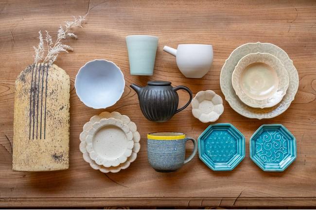 【JTCW2021】茨城・笠間焼、7人の陶芸家のおいしいうつわが一堂に。TOKYO FANTASTIC 青山店にて、「かさまのうつわ」開催!