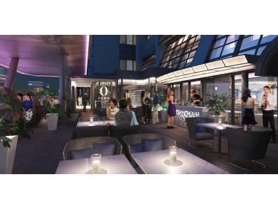 【クロスホテル大阪】大阪ミナミの中心に大人の遊び場「TERRACE&DINING ZERO」が登場