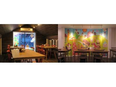 モンチッチカフェ「プラススクレート」がリニューアルオープン