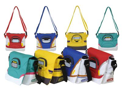 新シリーズ、新幹線メッセンジャーバッグ・新幹線サコッシュを発売。おでかけの子ども用カバン・バッグ類品揃え拡充を図る。