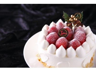 【奈良ホテルのクリスマスケーキ2017】 地元奈良の農家から直送 奈良県産いちご古都華(ことか)を使用「古都華・ド・ノエル」を限定100個販売