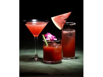 シェラトン都ホテル大阪 夏の風物詩「スイカ」のカクテルフェア 「Watermelon Arrange Cockteils」開催
