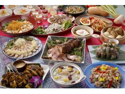 【大阪マリオット都ホテル】アジアの美味しいが集結