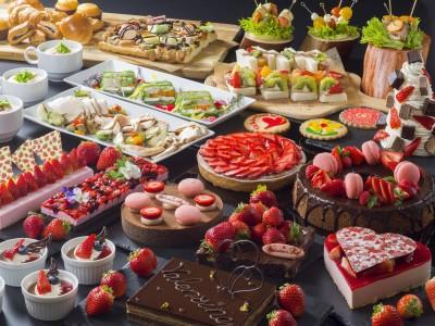 【都ホテルニューアルカイック】「いちご&チョコレート」がテーマのスイーツ&ランチバイキング開催
