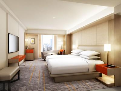 【シェラトン都ホテル大阪】12階フロア 全客室をリノベーション
