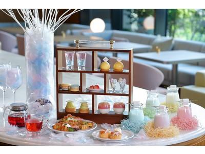 都ホテル 博多 初夏のアフタヌーンティーに華やかなシャーベットカラー登場