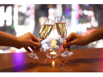 クリスマスディナー予約受付開始!福岡PARCOの瓦カフェでスパークリングワインとスイーツ付きの特別プランが登場