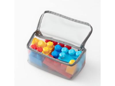おもちゃ収納ラックが使いやすくなるお片付け便利グッズ『おもちゃの収納仕分けポーチ』を発売