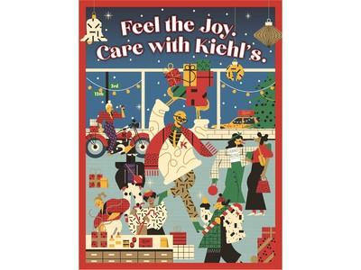 Feel the Joy. Care with Kiehl's. ワクワクと、想いあふれるギフトを、キールズと贈ろう。 2020 キールズ ホリデイ