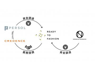 ファッション業界のしごとSNS「READY TO FASHION」、パーソルHD/ネバーセイネバーを引受先とした第三者割当増資を実施。