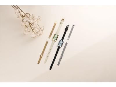 シンプルでスタイリッシュなミニマルデザインの時計ブランド「BREDA(ブレダ)」から、特別なベルトセットのモデルが登場(数量限定)!