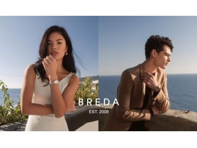 レディースウォッチブランド BREDA(ブレダ)、春らしい上品な新作コレクションが登場。