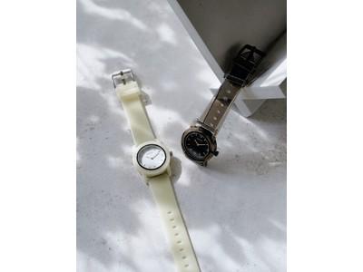 【6月4日(金)予約開始】ミニマルデザインの時計ブランド「BREDA(ブレダ)」から、リサイクルプラスチックを使用した夏らしくポップなモデル「PLAY」の新色が登場。
