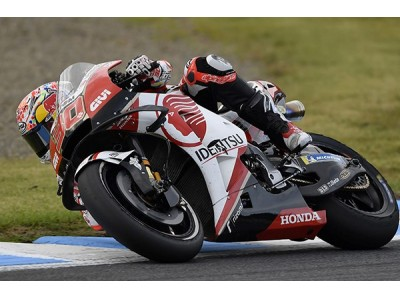 「LCR Honda IDEMITSU」中上選手の世界選手権最高峰MotoGP…