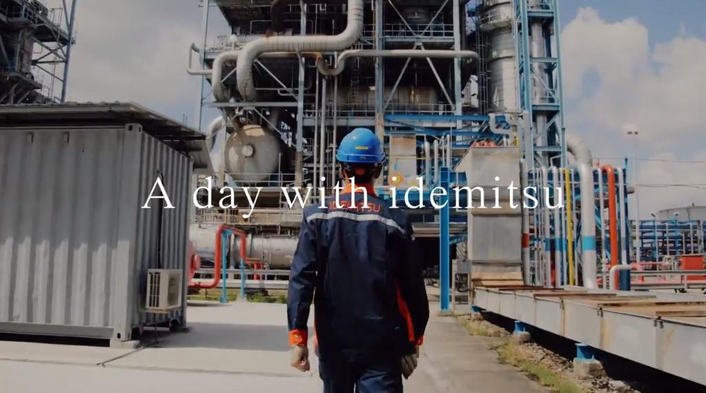 社員の一日をリアルな目線で同時に描く新テレビCM「A day with idemitsu」を4月4日(土)から全国でオンエア