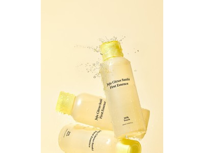韓国で特許を得た済州みかんの特別な力で明るく透明感のある肌に。MilkTouchから新しいスキンケアアイテムが登場!