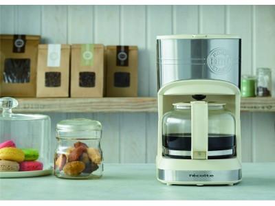 調理家電ブランド「recolte(レコルト)」毎朝のコーヒータイムをもっと手軽に!電動ドリップコーヒーを自宅で美味しく楽しめる『ホームコーヒースタンド』が新登場!