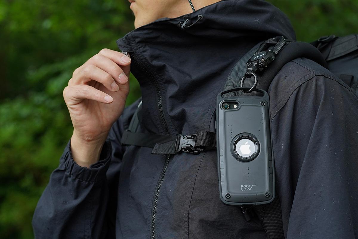 iPhoneSE(第2世代)用予約販売開始!耐衝撃×機能でキャンパーや登山者に人気のiPhoneケース「GRAVITY Shock Resist Case Pro.」