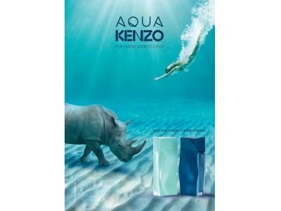 """KENZOより""""水の世界""""の虜になった人へ贈る、夢中にさせる2つの香り「アクア ケンゾー」と「アクア ケンゾー プールオム」が2018年5月1日(火) 新発売!"""
