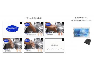 「正しい手洗い」動画の無償ダウンロード配布を開始!
