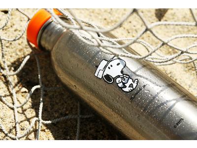 """24BOTTLESコラボアイテム!環境保全を提唱するイタリアのデザインブランド""""24ボトルズ""""とのコラボレーションボトルがPEANUTS Cafeに登場!"""
