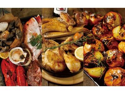 昼飲み&夜景も人気!欧州市場さながらの品揃えを楽しむディナーメニュー大阪梅田/NU茶屋町「バルバラマーケットプレイス」で6月12日からリニューアル!