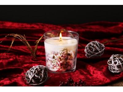 スヌーピーをテーマにした「PEANUTS Cafe 中目黒」他、全店で12/13(金)より「クリスマスアロマキャンドル」が数量限定で登場!