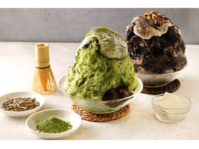 """お茶×かき氷!『こなな』から、""""お茶を愉しむかき氷""""2種が7月15日(水)より期間限定で登場!"""