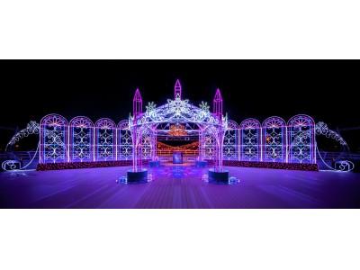 空港の夜を華やかに彩るイルミネーション「Centrair sky illumination ~光の聖堂~」を開催!