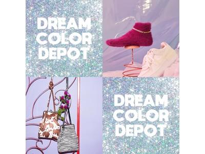 【DREAM COLOR DEPOT】POP UP STORE開催!ROSE BUDルクア大阪店にて