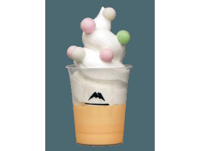 ここでしか食べられない!低温殺菌の安曇野産牛乳から作る牛乳ソフトをたっぷり使った「プリンパフェ」を販売!
