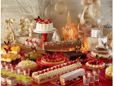 【サンシャインシティプリンスホテル】フランス伝統のクリスマスケーキ・ブッシュ ド ノエルなど、約20種のスイーツが楽しめる「クリスマススイーツフェア」を開催