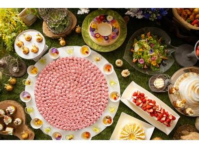 軽井沢プリンスホテル 「ランチ&スイーツブッフェ~花咲く、森のガーデンパーティー~」を開催