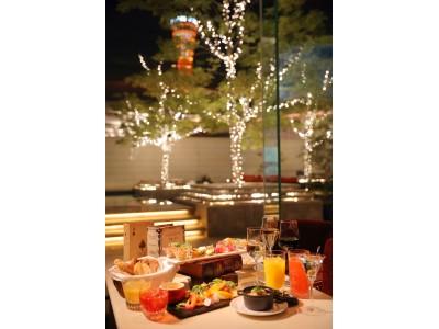 【ホテル ラ・スイート神戸ハーバーランド】開業10周年記念 煌めく神戸の夜景と共にホテルラウンジで愉しむFree Flow & Dishes