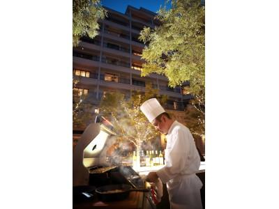 ラ・スイート スタイル グランピング「Garden Grill」新登場! ~シェフによる絶妙な肉の火入れをライブ感覚で!~