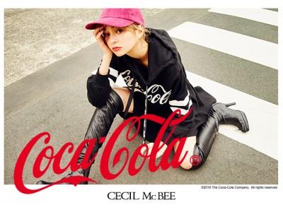 世界で愛され続ける「コカ・コーラ」と「CECIL McBEE」のスペシャルコラボアイテム!