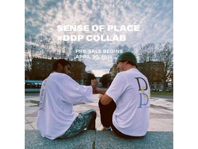 フランス発ストリートブランドddp ×SENSE OF PLACE by URBAN RESEARCHのコラボレーショングラフィックTシャツが登場