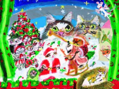 【大丸福岡天神店】猫をテーマとした作品世界を個性豊かに生み出す『久下 貴史』の原画・版画展