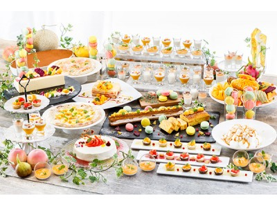 <初開催> テーマは「マンゴー&ピーチ」 約30種類が食べ放題の「サマードルチェブッフェ」6月3日(日)より 第一ホテルアネックスにて