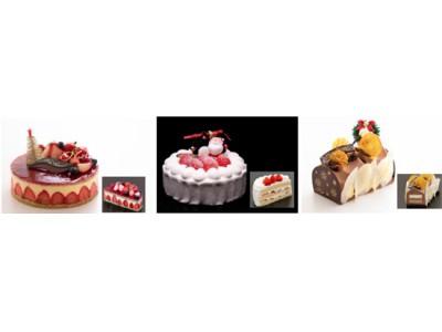 聖なる夜を彩る6種類のラインアップ クリスマスケーキコレクション2018 2018年11月1日(木)より 1階 パティスリー「アンフィニ」にてご予約受付開始