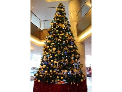 高さ6メートル超えのビッグクリスマスツリーや特設フォトスポットが登場!館内のクリスマス装飾を開始 2018年11月12日(月)より  JRホテルクレメント高松にて