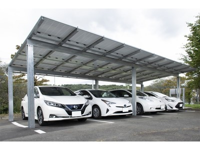 【プレスリリース】ソーラーカーポートを株式会社タカミヤと共同開発しました
