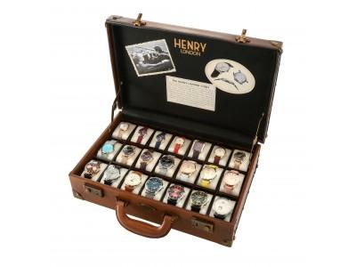 伊勢丹新宿店×英国時計『ヘンリーロンドン』、21種をセットにしたベストコレクション「ヘンリー・ザ・ベスト」を3セット限定で発売!