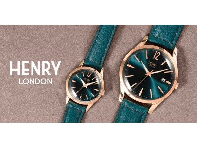英国の腕時計ブランド「ヘンリーロンドン」刻印無料キャンペーンをTiCTAC札幌ステラプレイス店、TiCTAC札幌パルコ店にて期間限定開催!~大切な人へメッセージを添えた腕時計を~