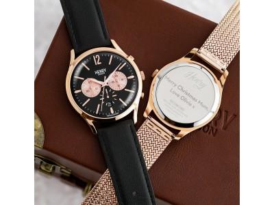 クリスマスのギフトに最適!英国の腕時計ブランド「ヘンリーロンドン」が刻印無料&ケアキットプレゼントキャンペーンをロウェル シングスにて期間限定開催!