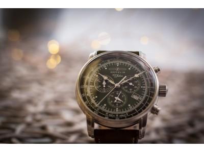 """ドイツの腕時計ブランド『ツェッペリン』の""""グリーン・ツェッペリン""""が絶好調。"""
