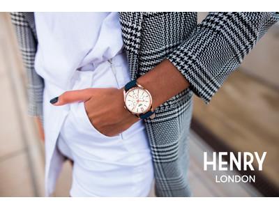 英国の腕時計ブランド「ヘンリーロンドン」が、高級感あふれる『ピムリコ』シリーズのTiCTAC限定モデルを10月15日(木)に発売します