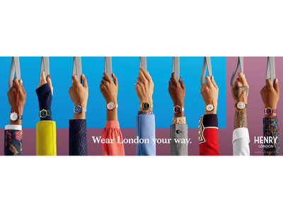 【ブランド初!手書きの裏ぶた刻印サービスを無料でご提供】英国の腕時計ブランド「ヘンリーロンドン」が、TORQUE新宿ルミネエスト店にて国内最大級のアイテム数を揃えたフェアを5月12日(水)より開催!