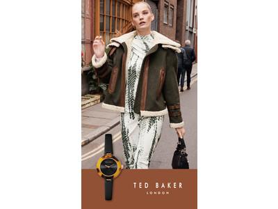 TED BAKER LONDON (テッドベーカーロンドン) のべっ甲ベゼルや華やかな文字盤が特徴の秋冬新作時計4シリーズ9型が10月20日(水)に発売!
