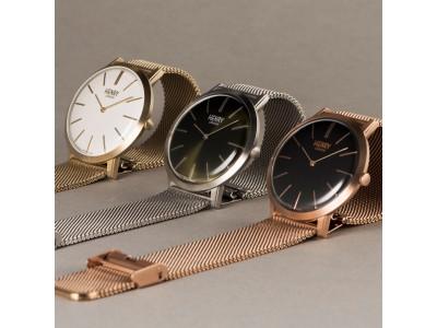 オンタイム札幌ロフト店で、英国の腕時計ブランド『ヘンリーロンドン』がポップアップショップを開催。